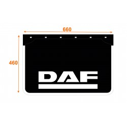 Faldón de caucho marca DAF K6646DA