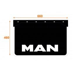 Faldón de caucho marca MAN K6646MA