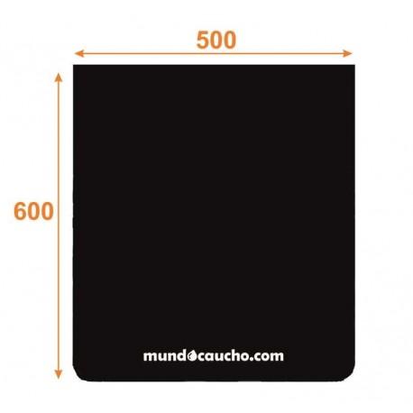 Faldón de caucho 500x600