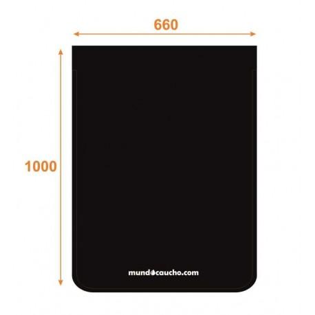 Faldón de caucho 660X1000