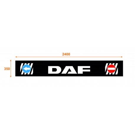 Faldón trasero de 2400x350 marca DAF