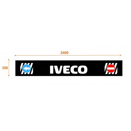 Faldón trasero de 2400x350 marca IVECO