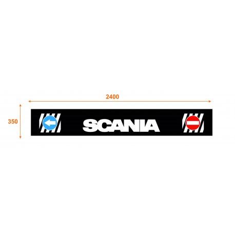 Faldón trasero de 2400x350 marca SCANIA