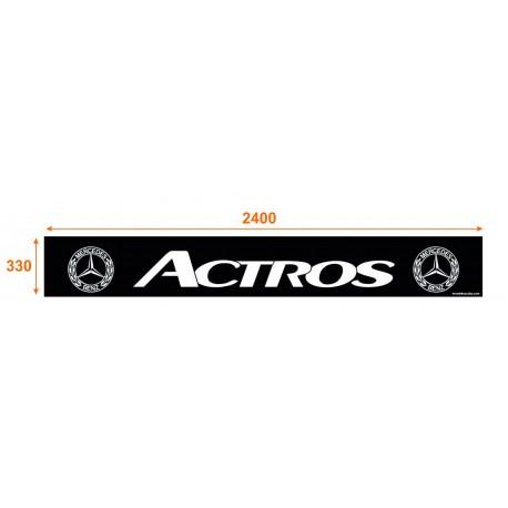 Faldón trasero de 2400x330 marca ACTROS