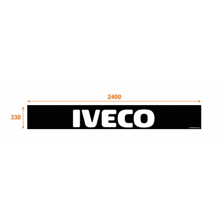 Faldón trasero de 2400x330 marca IVECO
