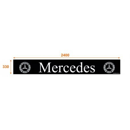Faldón trasero de 2400x330 marca MERCEDES