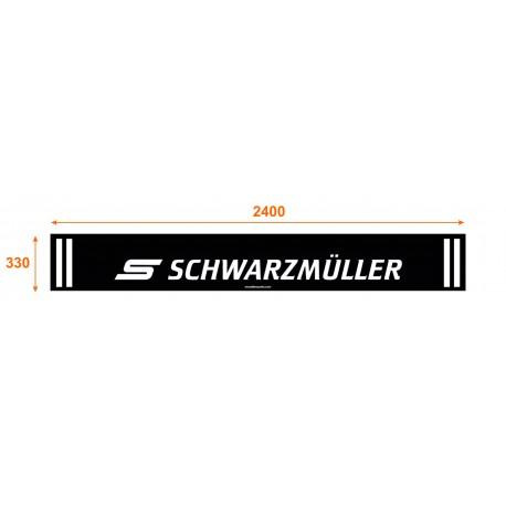 Faldón trasero de 2400x330 marca SCHWARZMÜLLER
