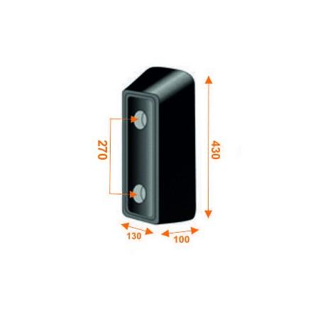 Tope trasero de 430 mm de alto KTT430