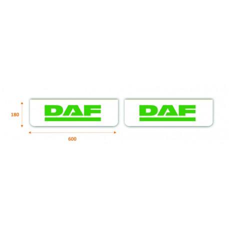 Faldilla delantera color blanco 600x180 DAF verde