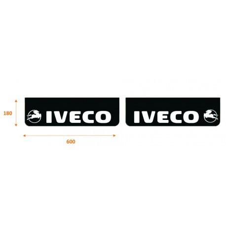 Faldilla delantera color negra 600x180 IVECO