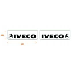 faldilla  delantera color blanco 600x180 IVECO negro