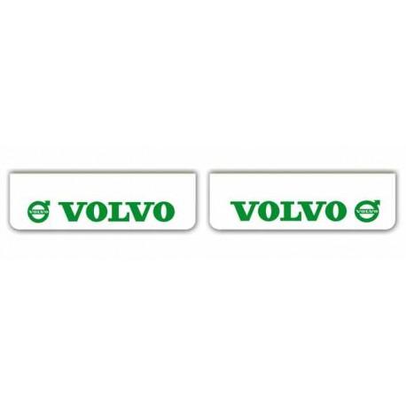 Faldilla delantera blanca 600x180 VOLVO verde
