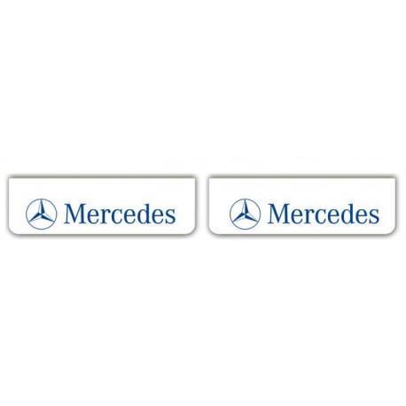 Faldilla delantera blanca 600x180 MERCEDES azul