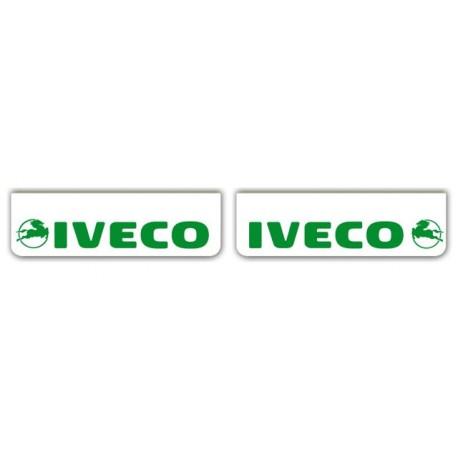 Faldilla delantera color blanco 600x180 IVECO verde