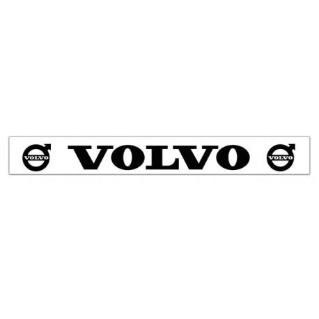 Faldilla trasera blanca 2400x350 logo VOLVO negro