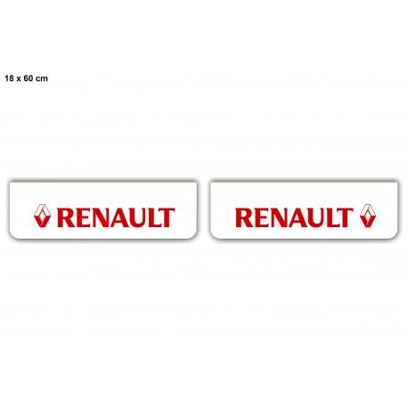 Faldilla Delantera Blanca 600*180 Renault Roja