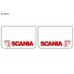 JUEGO de faldillas delanteras blancas 600x400 SCANIA rojo