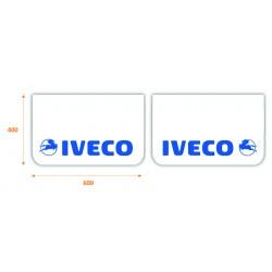JUEGO de faldillas  delanteras blancas 600x400 IVECO azul