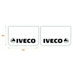 JUEGO de faldillas delanteras blancas 600x400 IVECO negro