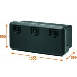 Caja con triple cerradura KV5060