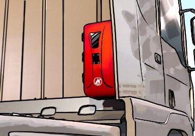 Porta extintores